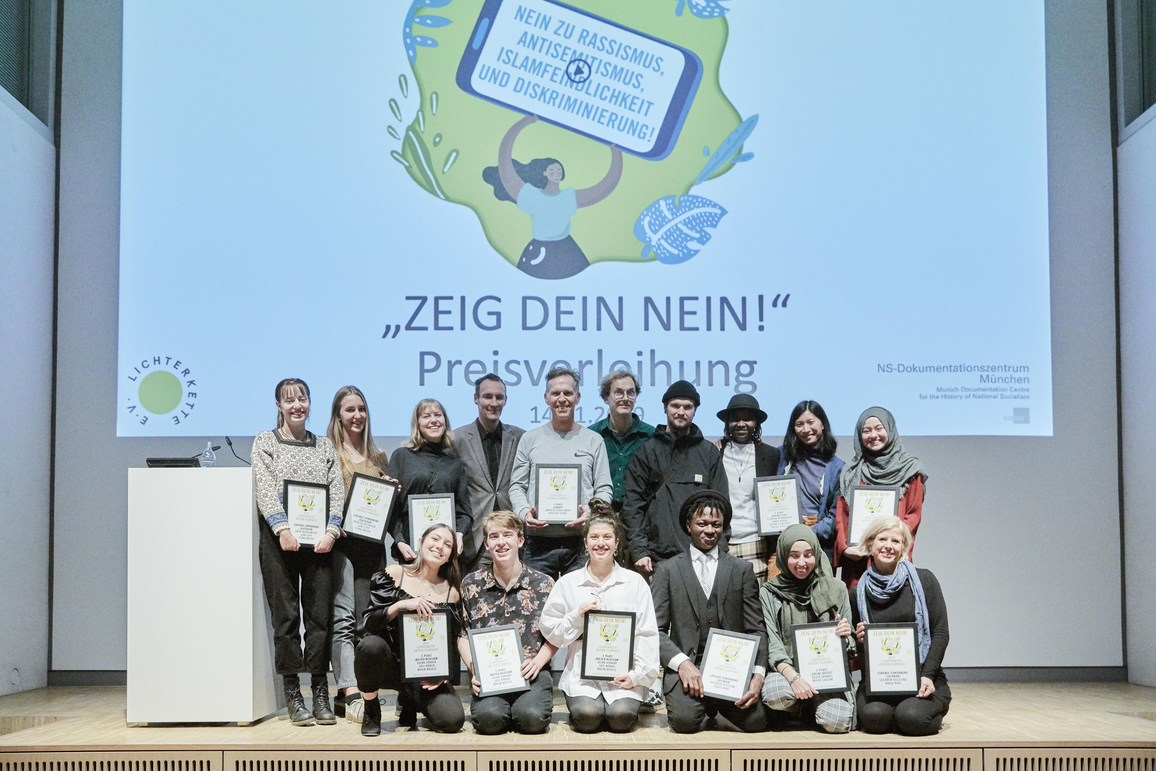 Zeig-Dein-Nein!: Alle Preisträger und Filme