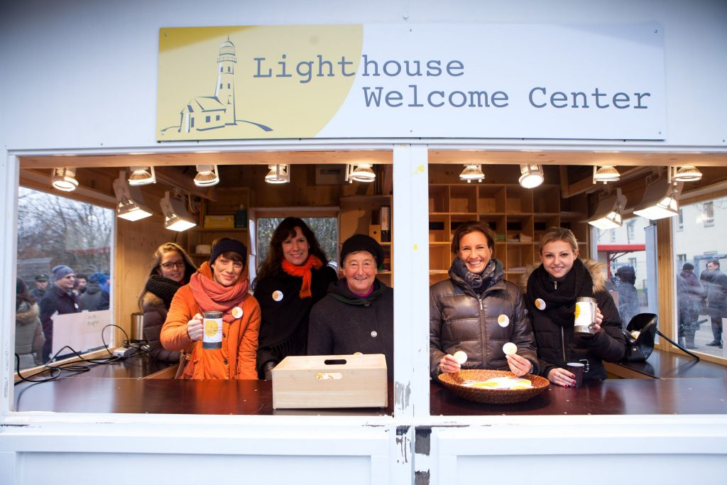 Eröffnung des Lighthouse Welcome Centers in der Bayernkaserne